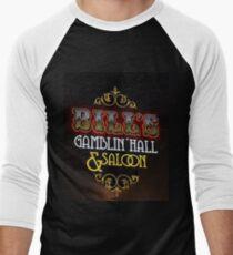 Bill's Gamblin' Hall and Saloon Vegas Men's Baseball ¾ T-Shirt