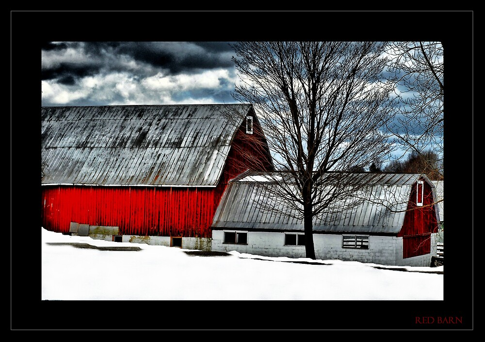 Red Barn by ULHALL