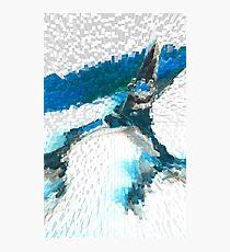 Shear Blue 2 Photographic Print