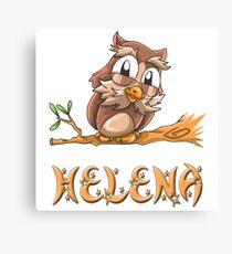 Helena Owl Canvas Print