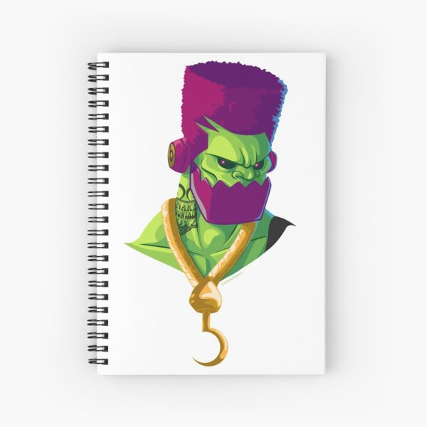 TrapJaw - Rappers of the Universe [He-Man] Spiral Notebook