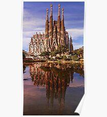 Sagrada Familia in Barcelona  Poster