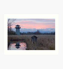 Tennant Lake Lookout Tower Art Print