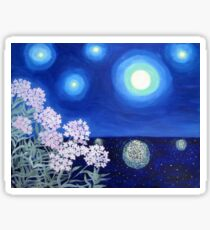 Stars and Flowers Sticker