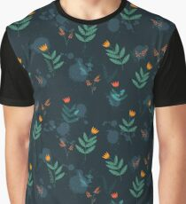 Midnight florals - 01 Graphic T-Shirt