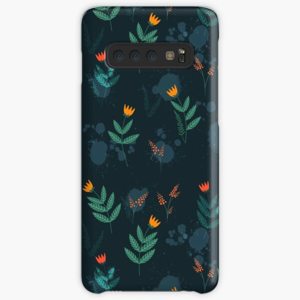 Midnight florals - 01 Samsung Galaxy Snap Case