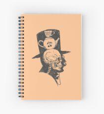 A gentlemen's X-ray Spiral Notebook
