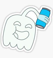 High Five Ghost Sticker