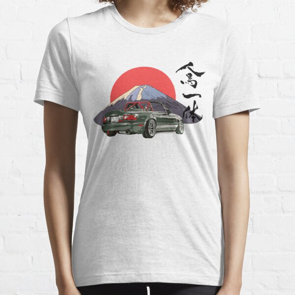 Mazda Miata / Mx5 - Édition Jinba Ittai Mount Fuji T-shirt essentiel