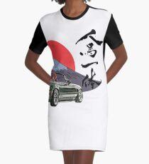 Mazda Miata/Mx5 - Jinba Ittai Mount Fuji edition Graphic T-Shirt Dress