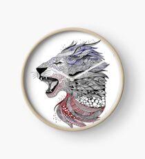 Leo-Urban Lion Clock