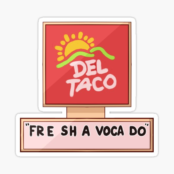 FRE SHA VOCA DO Sticker