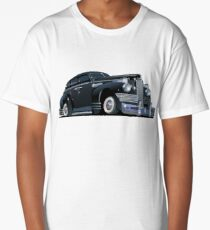 Cartoon retro limousine Long T-Shirt