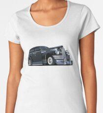 Cartoon retro limousine Women's Premium T-Shirt