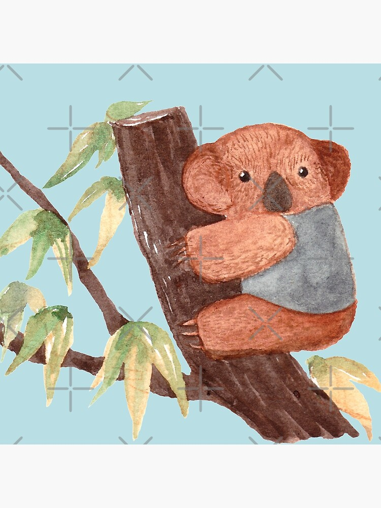 Kaola Bear on Tree by whya