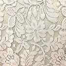 bohemian floral french country ivory beige lace by lfang77