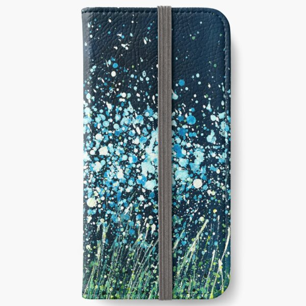 Night Flowers iPhone Wallet