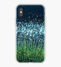 Nacht Blumen iPhone-Hülle & Cover
