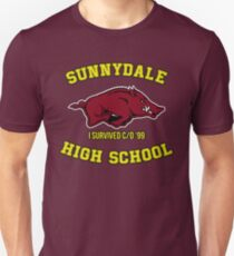 Sunnydale High School I Survived Class of 1999 Unisex T-Shirt