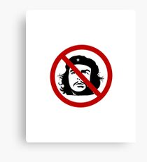 Che Guevara Is Not Cool Canvas Print