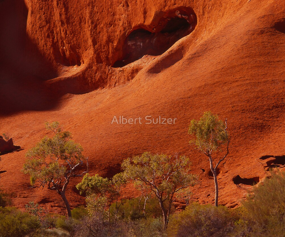 """The Rock"" 01 by Albert Sulzer"