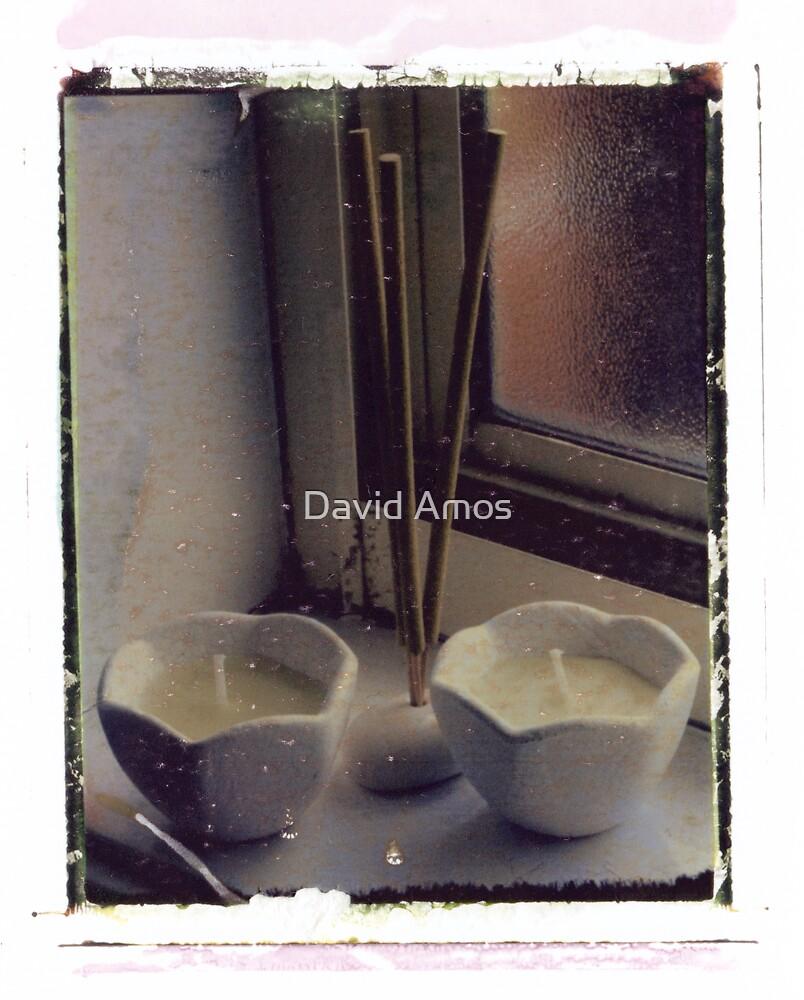 Candles & Incense  by David Amos