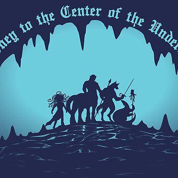 Journey to the Center of the Underdark by Stelera