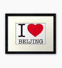 I ♥ BEIJING Framed Print