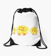 Easter Chick Drawstring Bag