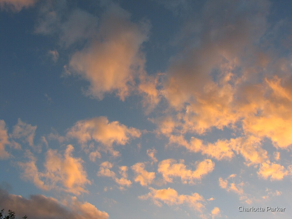 Clouds and the Sun by Charlotte Parker