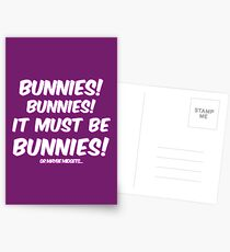 It must be bunnies Postcards