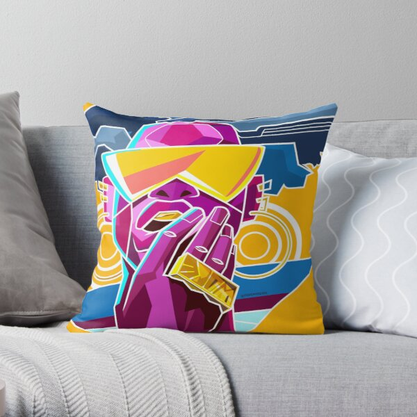 WOKE - Black & Beautiful Throw Pillow