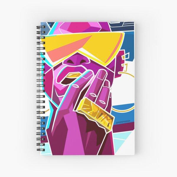 WOKE - Black & Beautiful Spiral Notebook