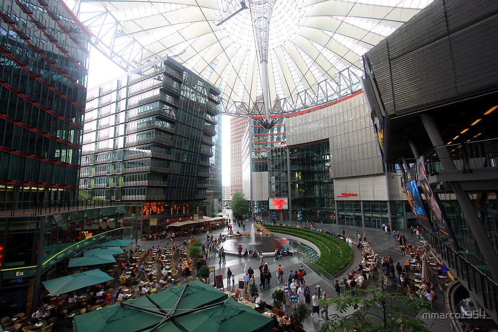 Berlin - Sony Center by mmarco1954
