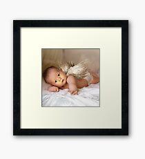 A Christmas Angel for David Parkin Framed Print