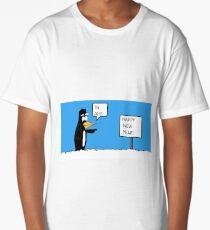 A Wishing Penguin Long T-Shirt