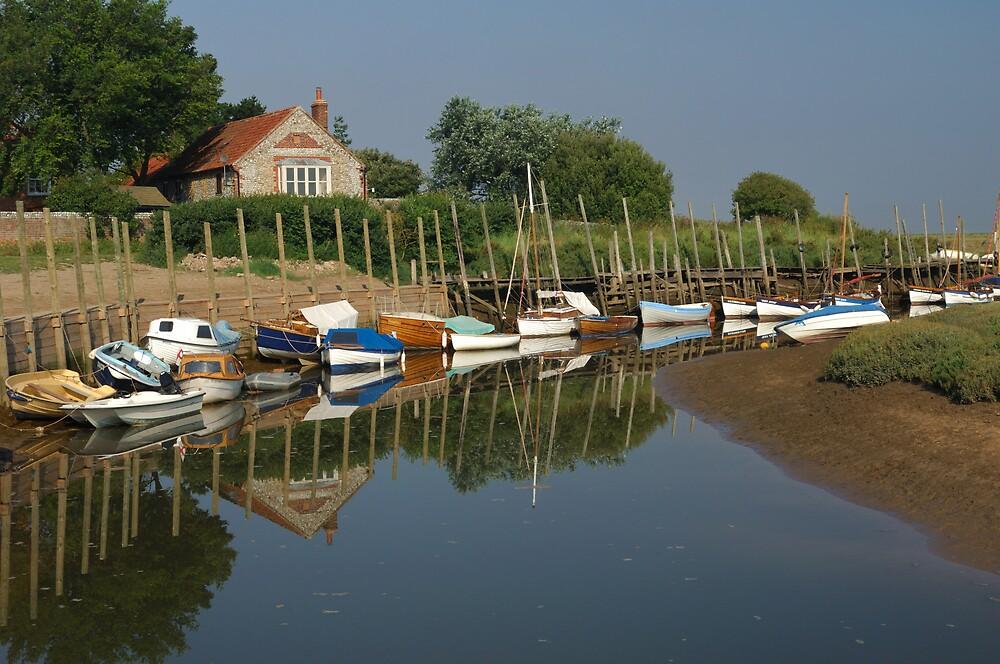 Blakeney in Norfolk by Dennis Smith