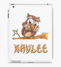 Kaylee Owl iPad Case/Skin