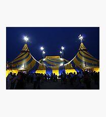 Cirque du Soleil - Le Grand Chapiteau - Montreal Quebec Canada Photographic Print
