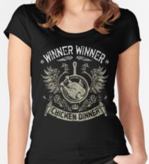 PUBG WWCD Women's Fitted Scoop T-Shirt