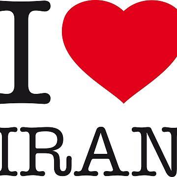 I ♥ IRAN by eyesblau