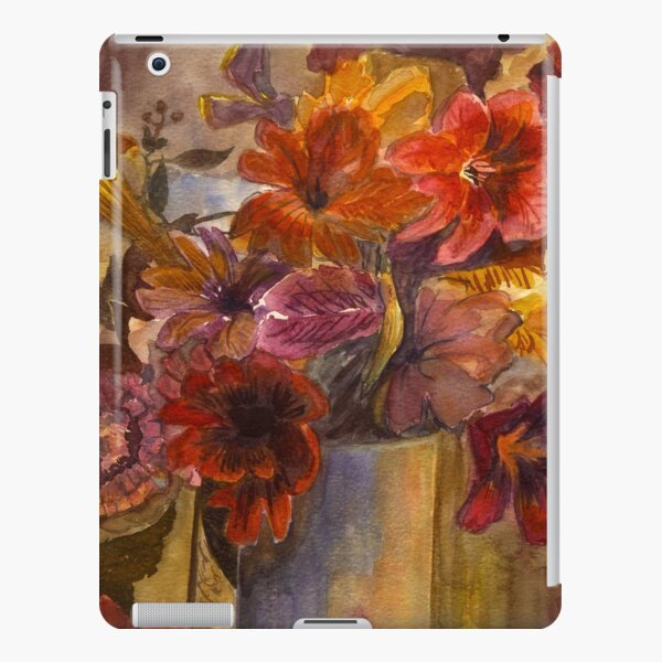 Watercolour Bouquet of Lillies iPad Snap Case