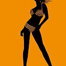 bikini girl 5 by Micheline Kanzy