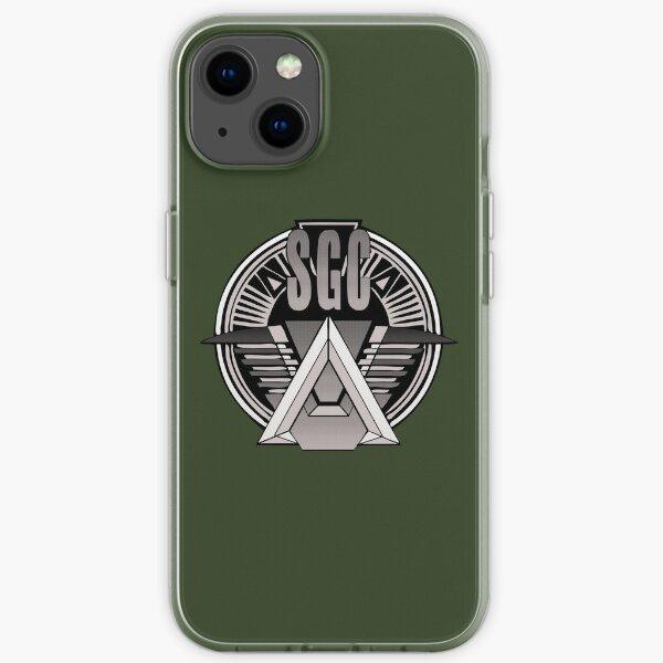 """parce que ce monde a besoin de plus de t-shirts Stargate :) Autocollant: """"! http: //ih2.redbubble.net/work.7204488.1.sticker Coque souple iPhone"""