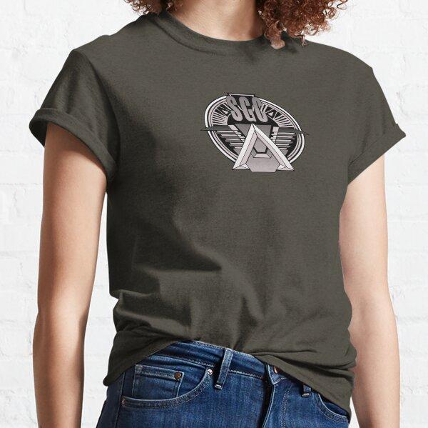 """parce que ce monde a besoin de plus de t-shirts Stargate :) Autocollant: """"! http: //ih2.redbubble.net/work.7204488.1.sticker T-shirt classique"""