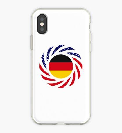German American Multinational Patriot Flag Series iPhone Case