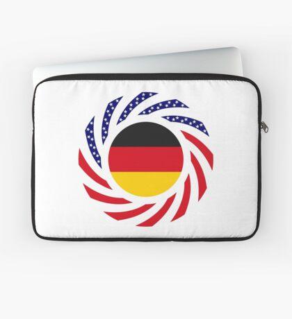 German American Multinational Patriot Flag Series Laptop Sleeve