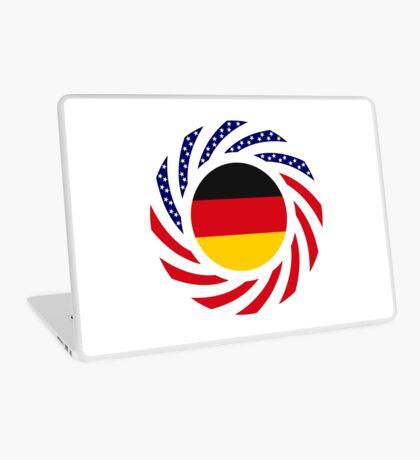 German American Multinational Patriot Flag Series Laptop Skin