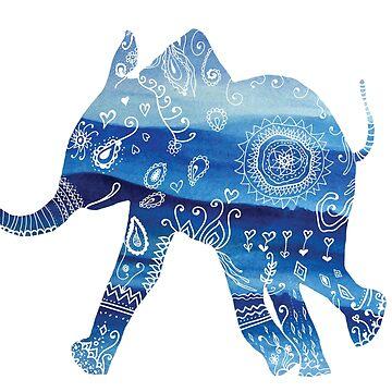 Elefante Mandala de Manitarka