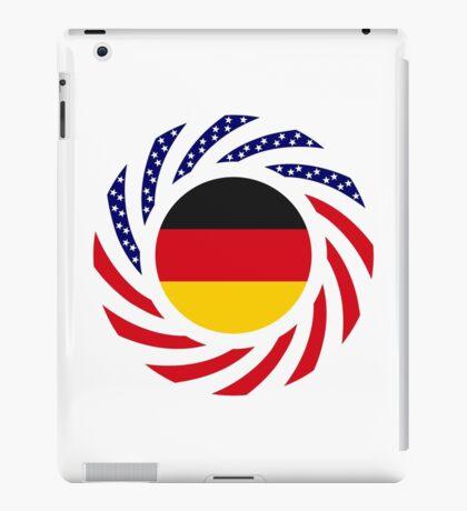 German American Multinational Patriot Flag Series iPad Case/Skin